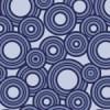 藍色のたくさんのサークルが散らばるパターン