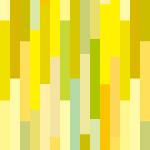 黄色基調の長方形がランダムに並ぶパターン