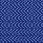 藍色のヘリンボーン柄パターン