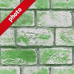 ざらついた緑色の写真加工パターン