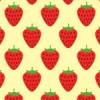 イチゴのイラストが並ぶパターン
