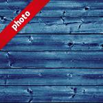 青い板の間の写真加工パターン