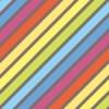 淡いレインボーカラーの斜線パターン