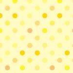 黄色のドット柄パターン
