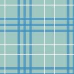 淡いブルーのタータンチェック柄パターン