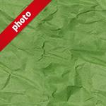 緑色のくしゃくしゃな紙の写真加工パターン