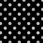 ブラック系のドット柄パターン