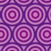 紫色のサークルが並ぶパターン