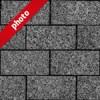 黒い石畳の写真加工パターン