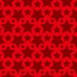 赤色のスターが並ぶパターン