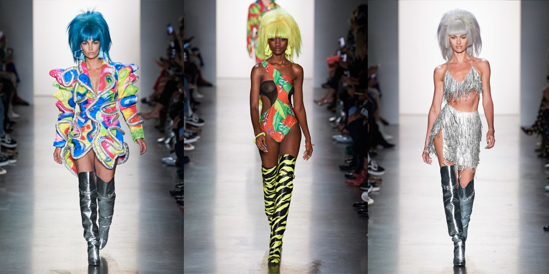 Fashion Internships Nyc Summer 2020.Nyfw Jeremy Scott Spring Summer 2020 Pattern