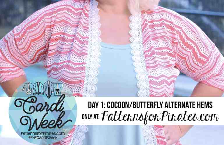 P4P Cardi Week :: Cocoon Lace Hems