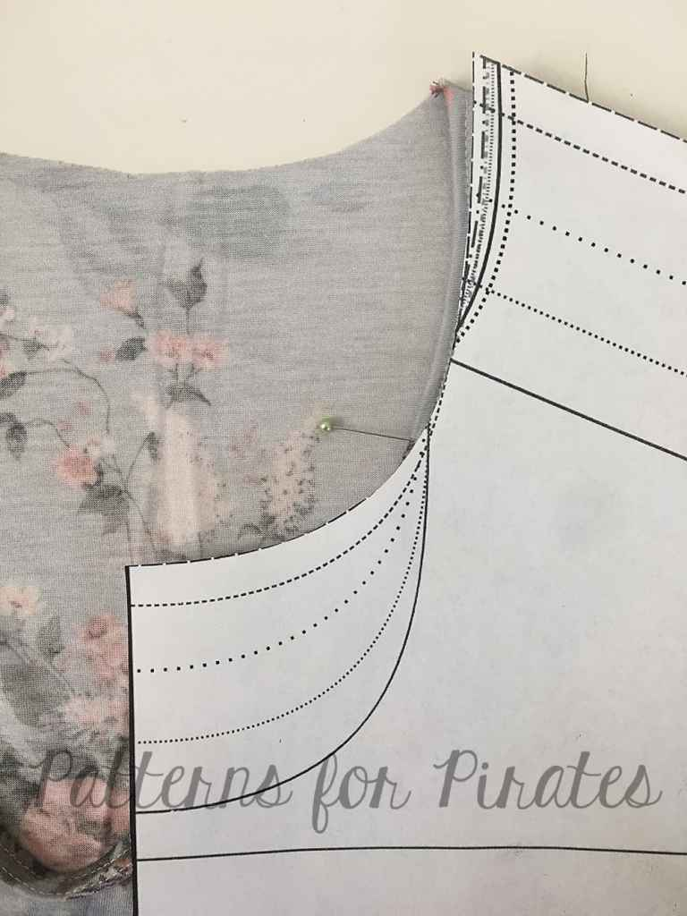 How to sewing tutorial archives page 3 of 10 patterns for pirates we are going to use the same binding method as we did the v neck to finish the choker band my binding strip is 25 and finishes about 1 malvernweather Gallery