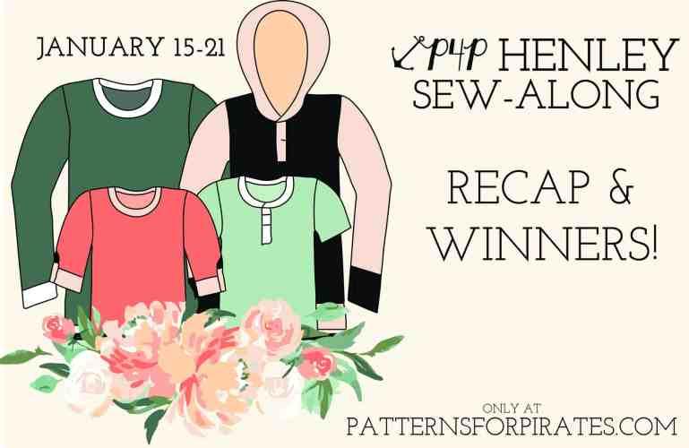 P4P Henley Sew-Along | Recap + Winners!