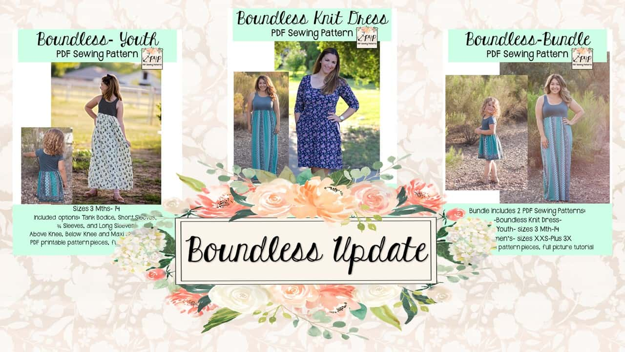Boundless Dress :: New Pattern + Update! - Patterns for Pirates