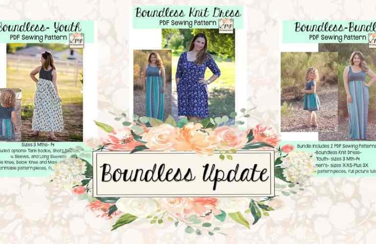 Boundless Dress :: New Pattern + Update!