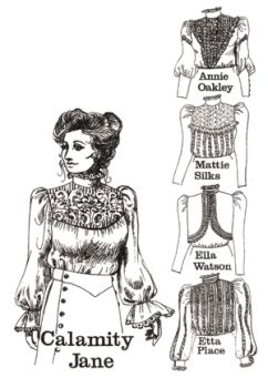 Patterns of Time 1880s to 1890s Romantic Era Blouses