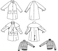 Patterns of Time Child's Australian Drover's Coat Pattern