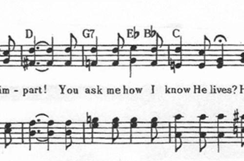 """He Lives"" Hymn"