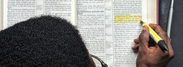 highlighting bible