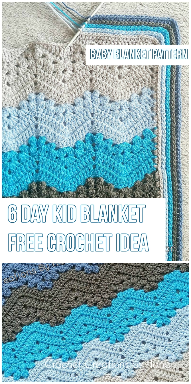 The 6 Day Kid Blanket