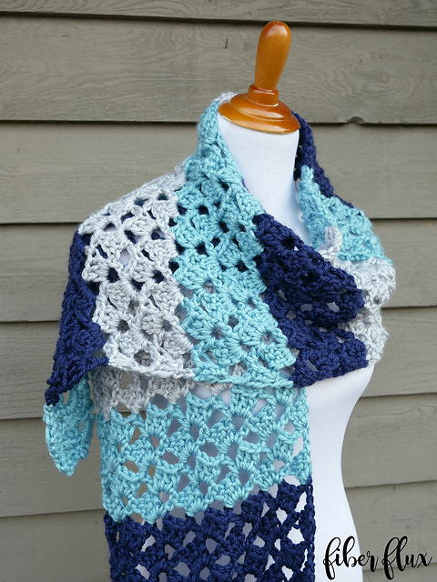 Lake House Wrap Crochet Pattern