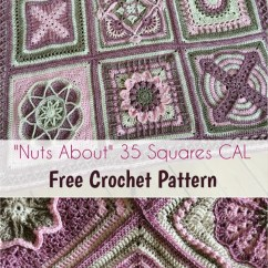 Diagram Crochet Pattern Four Wire Oxygen Sensor Wiring Nuts About 35 Squares Cal [free Pattern] | Patterns Valley