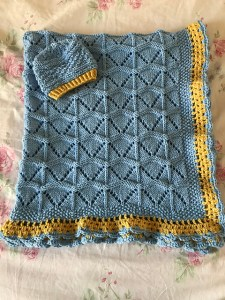 Precious Baby Blanket - Free Knit Pattern