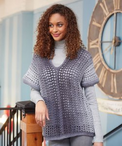 Easy Two-Rectangle Sweater
