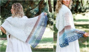 Crochet Rising Tide Shawl Free Pattern