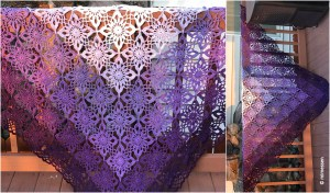 Gypsy Queen Shawl [Free Crochet Pattern]