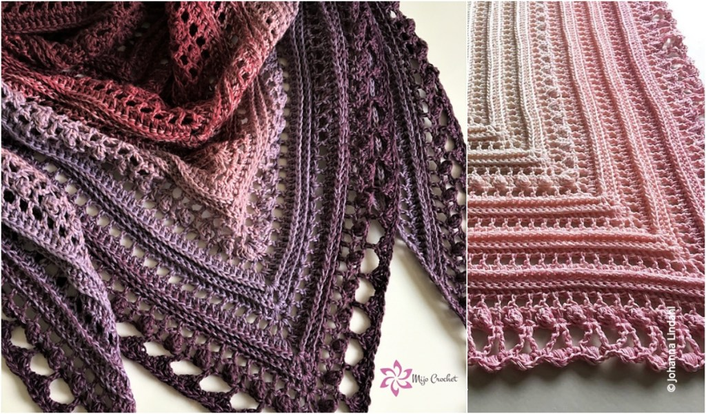 Secret Paths Free Crochet Wrap Pattern