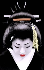 geisha makeup hairstyles