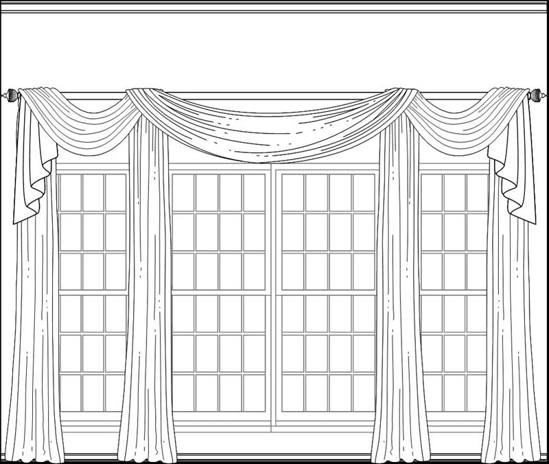 CUSTOM WINDOW TREATMENT PATTERNS « Patterns