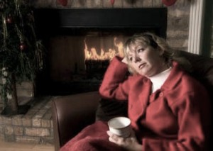 Woman attempt to stay merry during the holidays