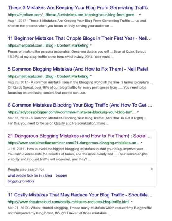 why focusing on blog traffic is a mistake