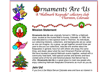Ornaments Are Us