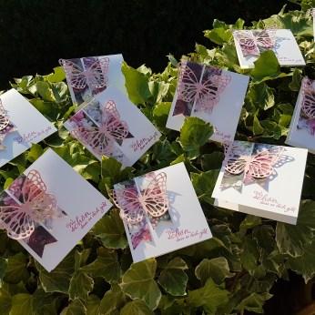 20 Gastkarten zur Gartenparty