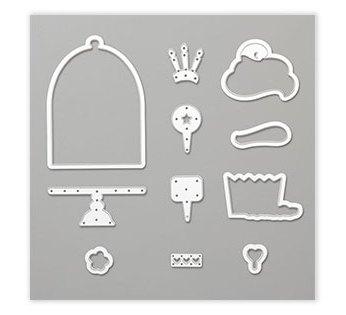 Framelits Formen Cupcake, 150072, 33,00 €, abgestimmt auf das GRATIS-Stempelset Süsse Grüße für Dich, 150001, SAB 2019