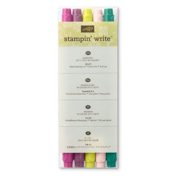 Stampin'Write Marker In Color 2017-2019, 144033, 18,75 €