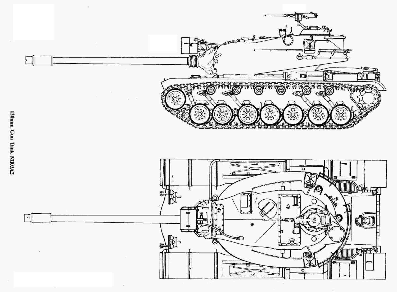 M103 Tank Blueprints Gallery