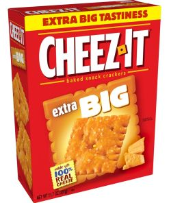 Cheez-It Extra Big Baked Cheese Crackers – 11.7 Oz Box