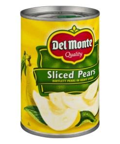 (3 Pack) Del Monte Sliced Pears, 15.25 oz
