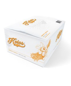 KOIOS – Nootropic Apricot Vanilla Functional Beverage, Enhances Brain Function, Productivity, Reduce Stress, w/ Lion's Mane Mushroom, MCT Oil, & Natural Caffeine, Gluten-Free, 12 Fl Oz Cans (12-Pack)