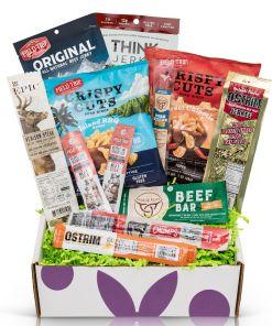 Bunny James Jerky Sampler Box Gift Box, 12 Count