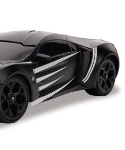 1:16 Hollywood Rides Rc Black Panther Ly