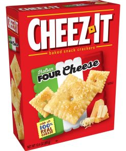 Cheez-It Italian Four Cheese Baked Cheese Crackers – 12.4 Oz Box