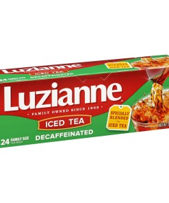 (2 Boxes) Luzianne Decaffeinated Iced Tea, 24 Ct