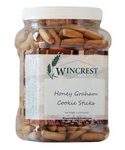 Cinnamon Honey Pretzels Graham Sticks – 1.5 Lb Tub