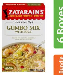 (6 Pack) Zatarain's Gumbo Mix, 7 oz